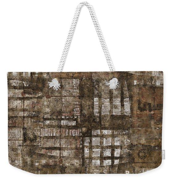One Through Six Weekender Tote Bag