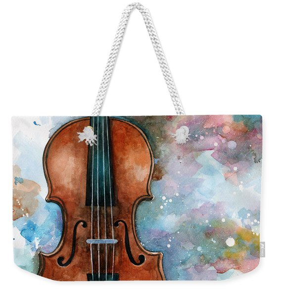 One Voice In The Cosmic Fugue Weekender Tote Bag