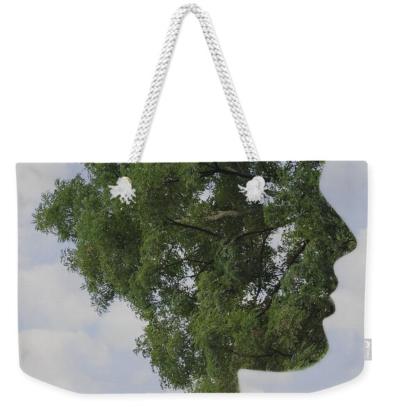 One With Nature Weekender Tote Bag