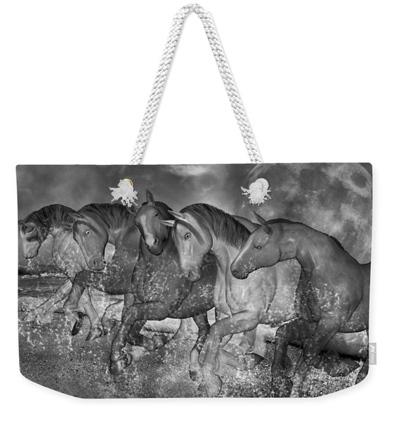 One With The Sea Weekender Tote Bag