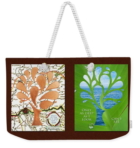 Only As Much As I Dream Series Weekender Tote Bag