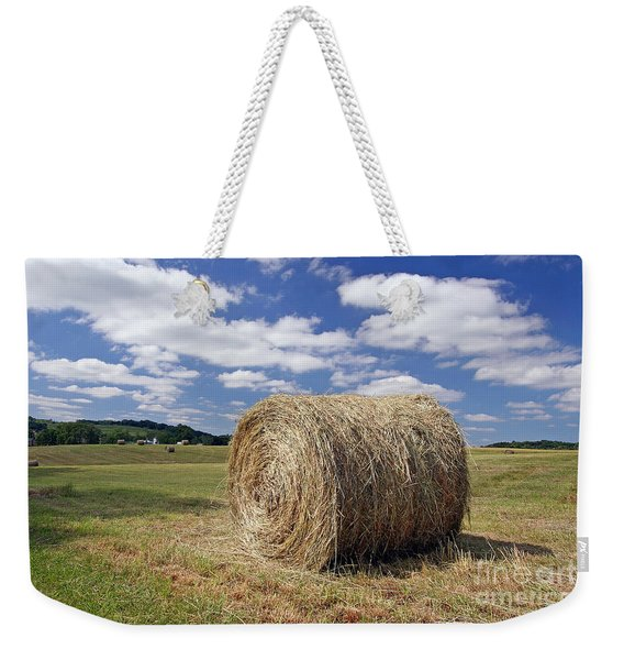 Open Field Weekender Tote Bag