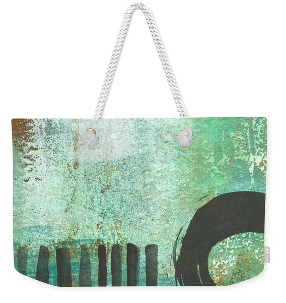 Open Gate- Contemporary Abstract Painting Weekender Tote Bag