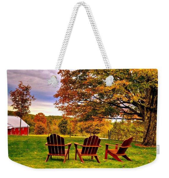 Open Seating Weekender Tote Bag