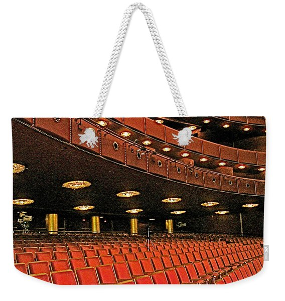 Opera House Auditorium In John F Kennedy Center For The Performing Arts-washington Dc  Weekender Tote Bag