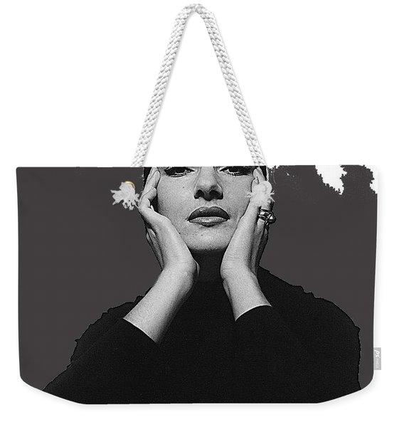 Opera Singer Maria Callas Cecil Beaton Photo No Date-2010 Weekender Tote Bag