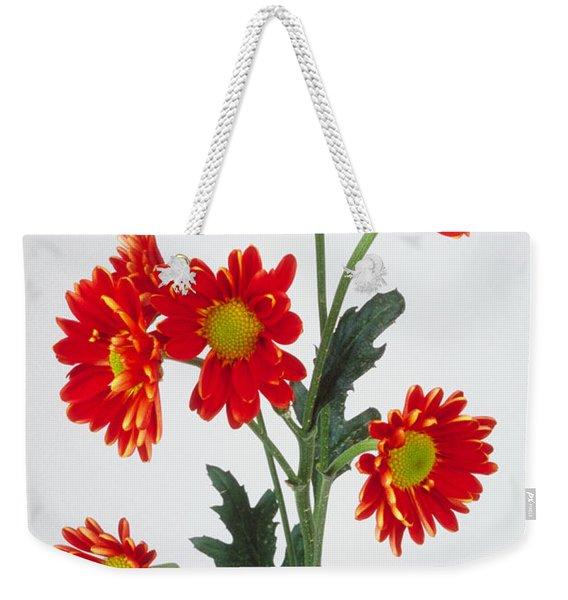 Orange Carnations Weekender Tote Bag
