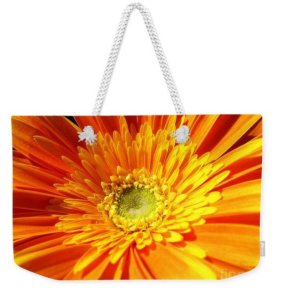 Orange Gerbera Weekender Tote Bag
