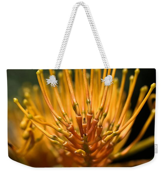 Orange Grevillea Weekender Tote Bag