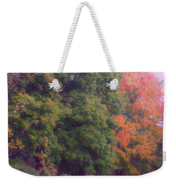 Orange Leaves - Monet Weekender Tote Bag