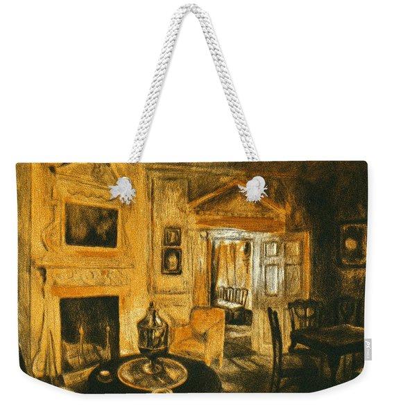 Orange Light At Mount Vernon Weekender Tote Bag