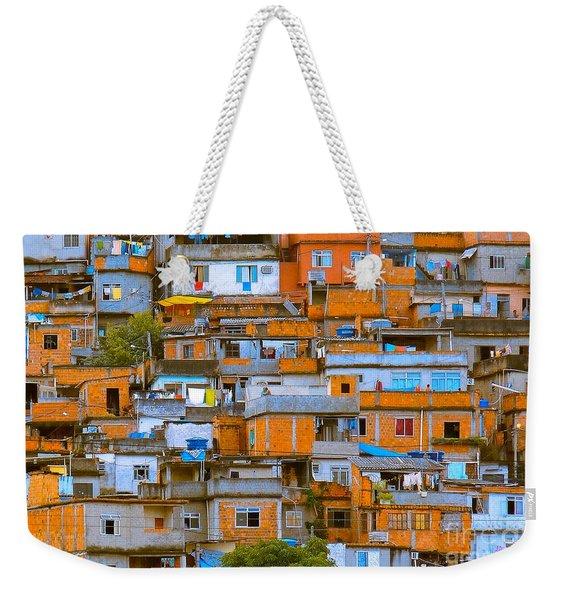 Orange Suburbs Weekender Tote Bag