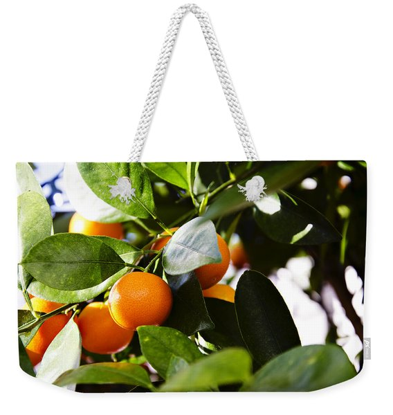 Orange You Glad To See Me Weekender Tote Bag