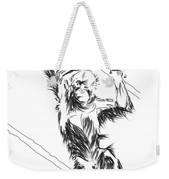 Orangutan 3 Weekender Tote Bag