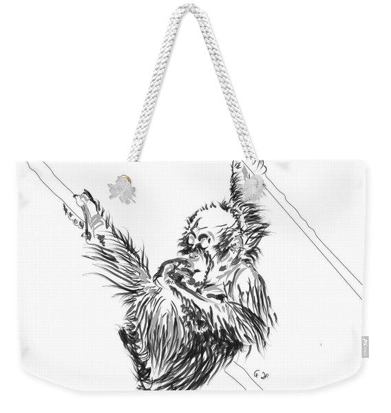 Orangutan Baby 2 Weekender Tote Bag