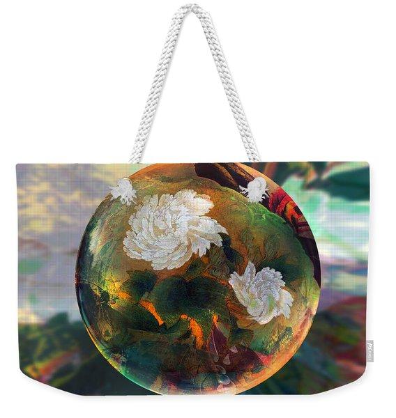 Oriental Abstract  Weekender Tote Bag