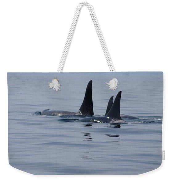 Orca Family Weekender Tote Bag