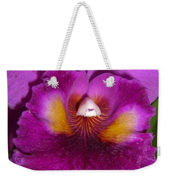 Orchid Flames Weekender Tote Bag