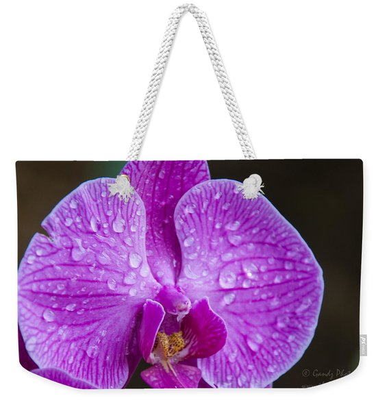 Orchid Weekender Tote Bag
