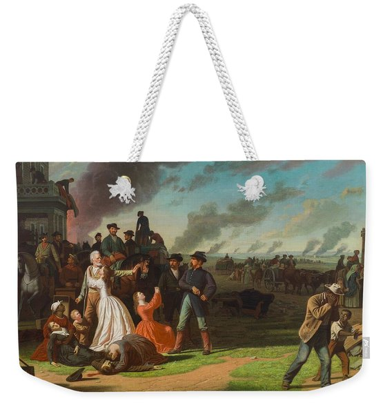 Order No. 11, 1865-70 Oil On Canvas Weekender Tote Bag