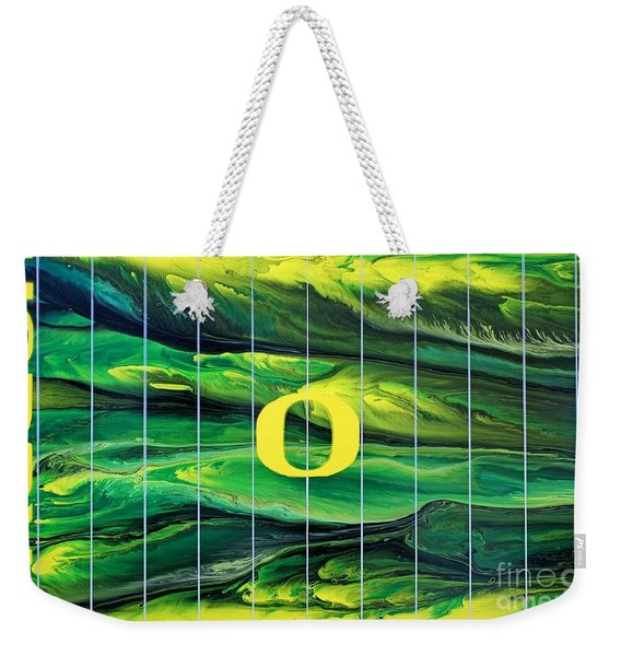 Oregon Football Weekender Tote Bag