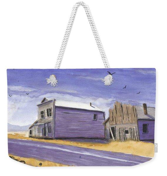 Oregon Ghost Town Watercolor Weekender Tote Bag