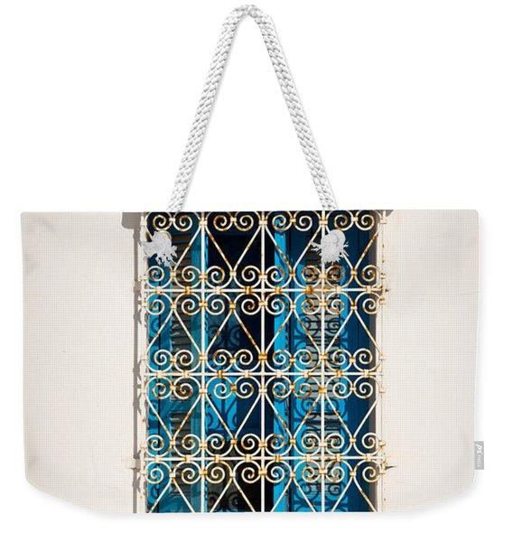Oriental Window Weekender Tote Bag