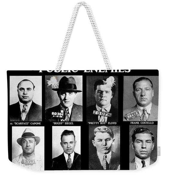 Original Gangsters - Public Enemies Weekender Tote Bag