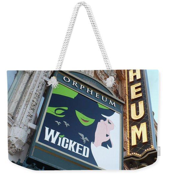 Orpheum Sign Weekender Tote Bag