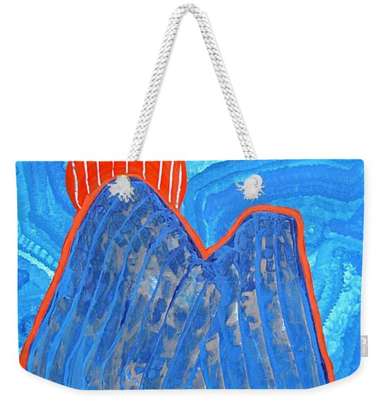 Os Dois Irmaos Original Painting Sold Weekender Tote Bag