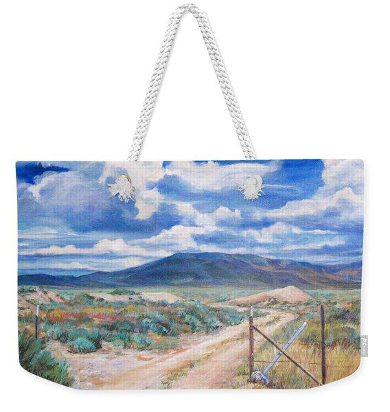 Osceola Nevada Ghost Town Weekender Tote Bag