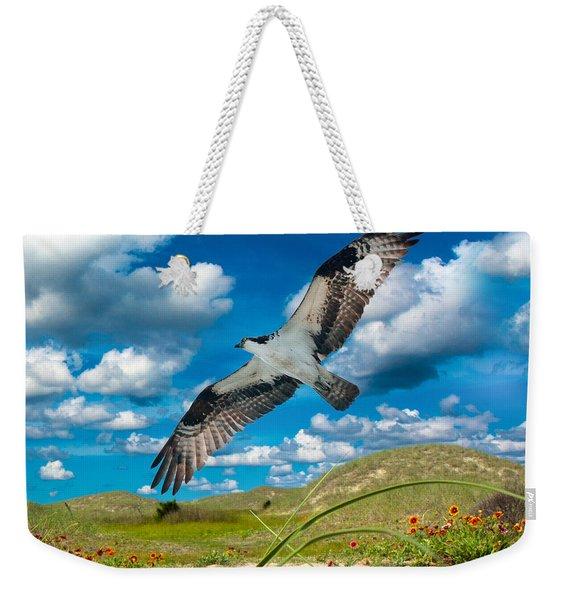 Osprey On Shackleford Banks Weekender Tote Bag