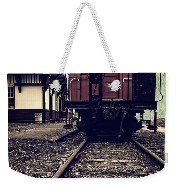 Other Side Of The Tracks Weekender Tote Bag