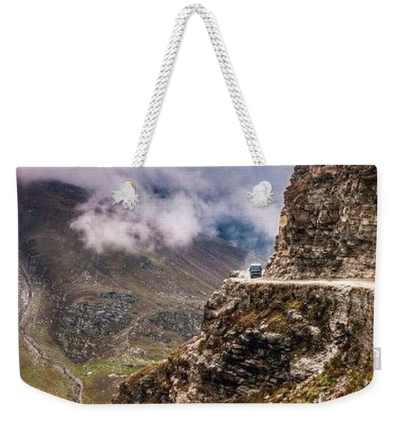 Our Bus Journey Through The Himalayas Weekender Tote Bag