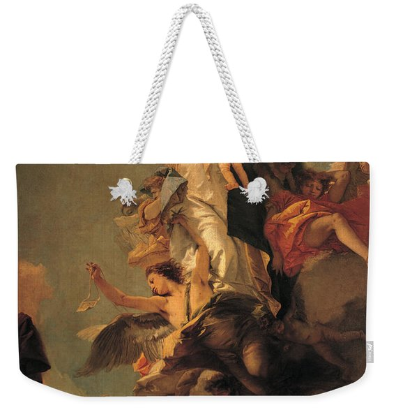 Our Lady Of Mount Carmel  Weekender Tote Bag