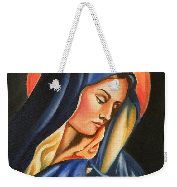 Our Lady Of Sorrows Weekender Tote Bag