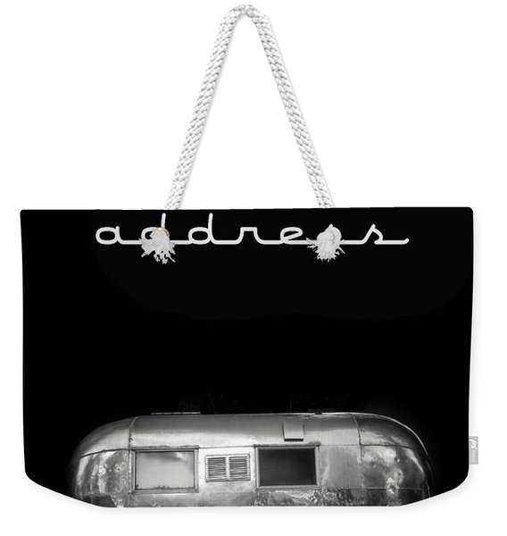 Our New Address Announcement Card Weekender Tote Bag