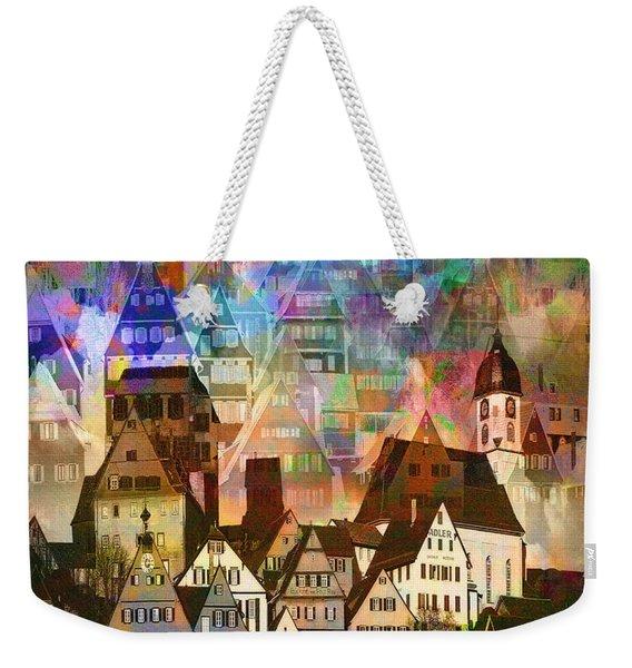 Our Old Town Weekender Tote Bag