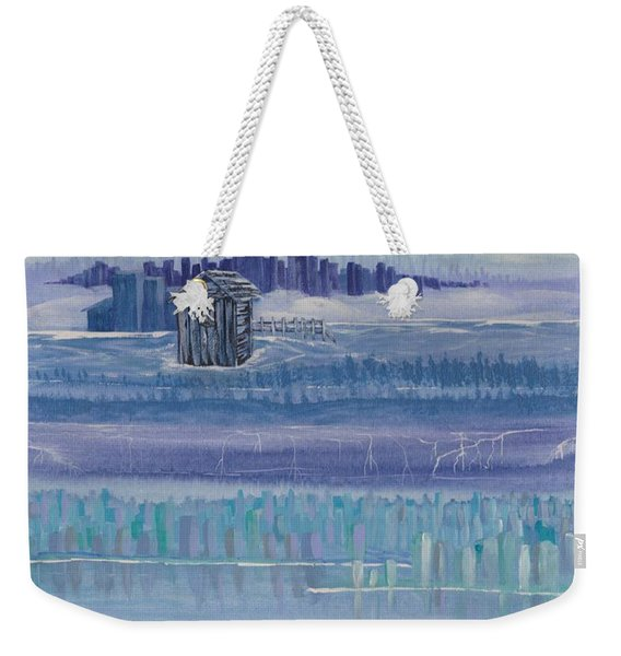 Out House In Nowhere Weekender Tote Bag