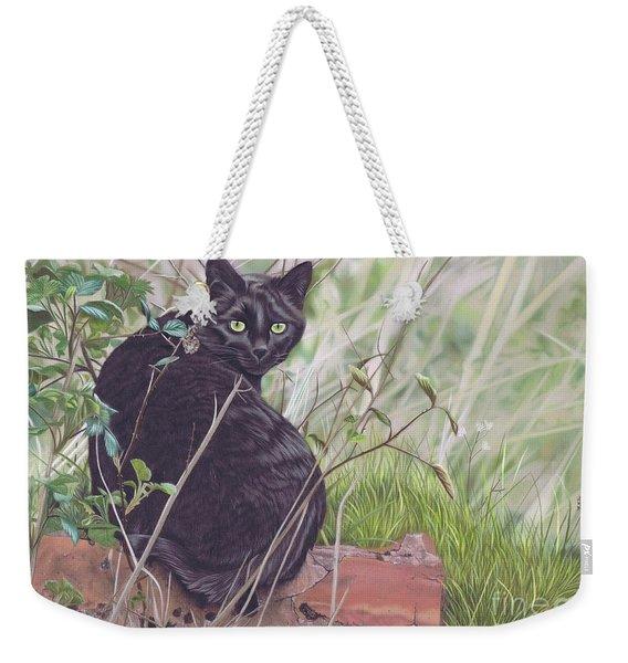 Out Hunting Weekender Tote Bag