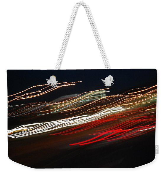 Out Of Control Weekender Tote Bag