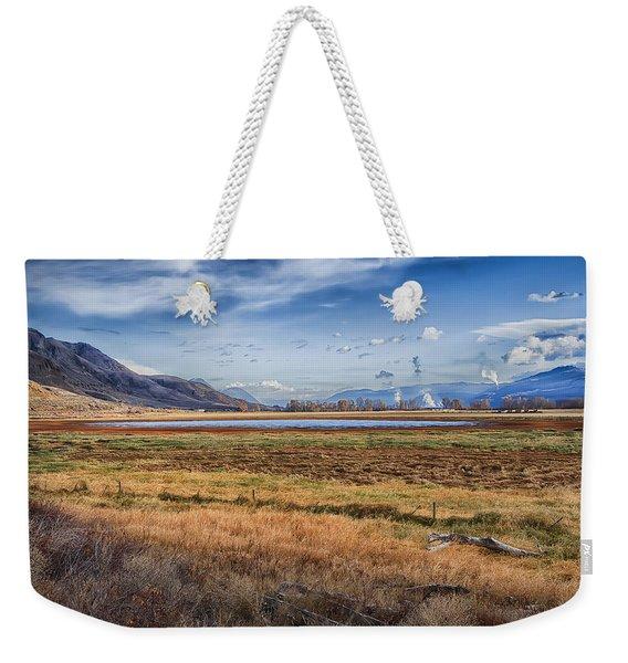 Out West  Weekender Tote Bag