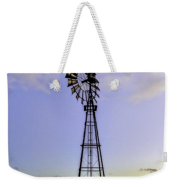 Outback Windmill Weekender Tote Bag