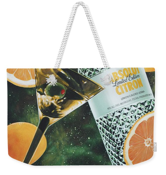Outer Citron Weekender Tote Bag