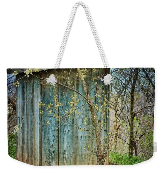 Outhouse In Spring Weekender Tote Bag