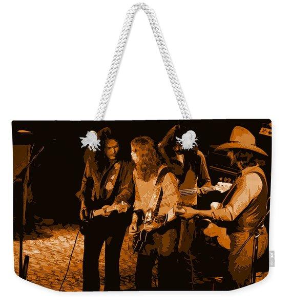 Outlaws #26 Crop 2 Art In Amber Weekender Tote Bag