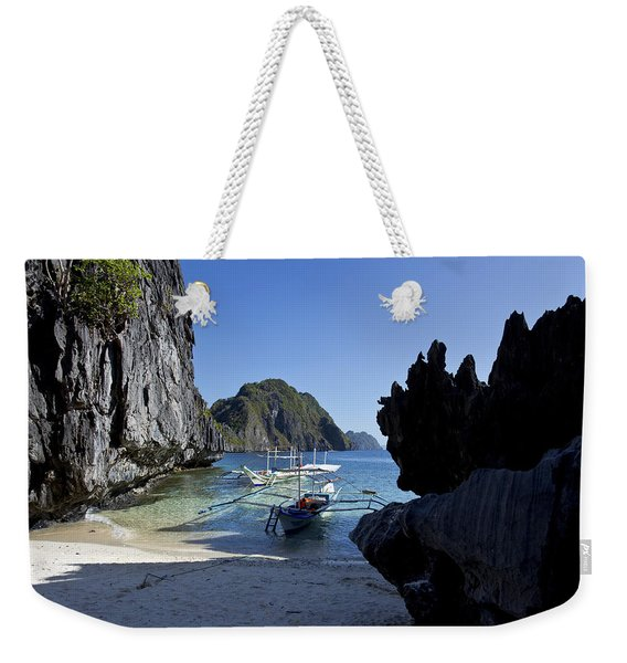 Outrigger Cove Weekender Tote Bag