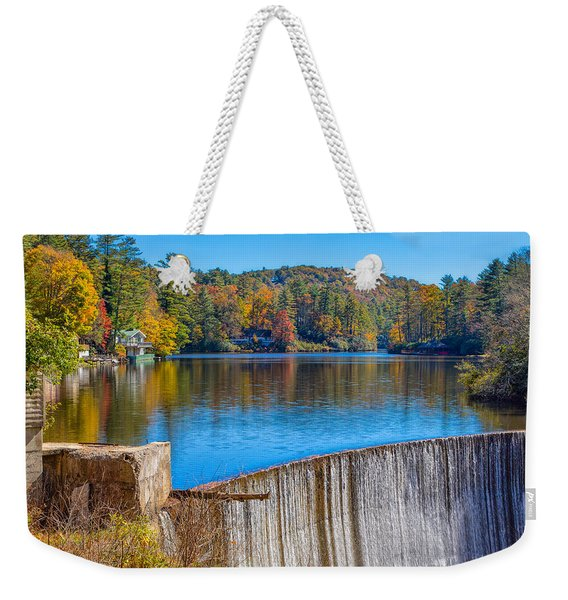 Outskirts Of Highland Weekender Tote Bag