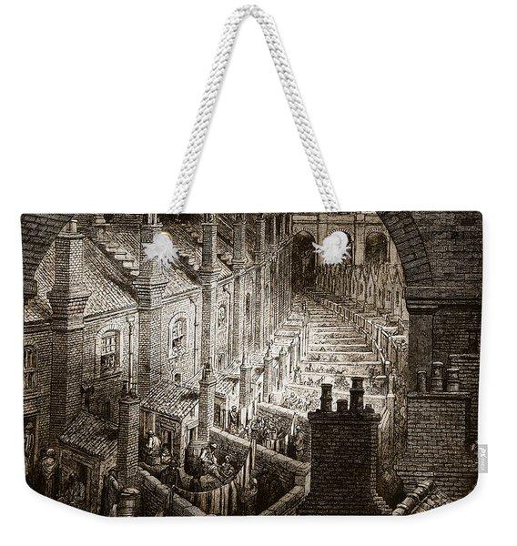 Over London Weekender Tote Bag