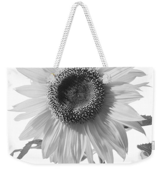 Over Looking The Garden Weekender Tote Bag